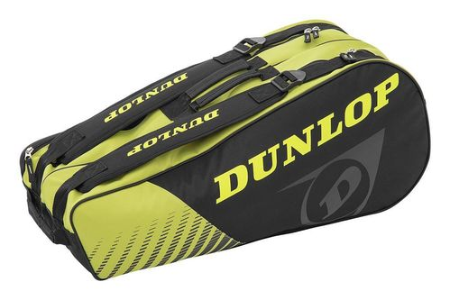 Dunlop SX Club 6 Racket Bag black/yellow